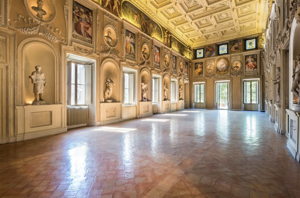 Am I in the Hall of Mirrors? The Pitti Palace? Nope-it's a private residence.
