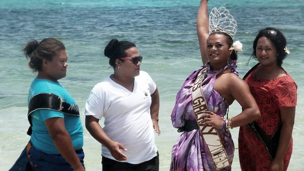 The Miss Galaxy Pageant in Leitis in Waiting.