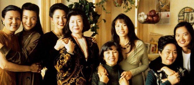 The leading ladies of Joy Luck Club: Kieu Chinh, Ming-Na Wen, Tamlyn Tomita, Tsai Chin, France Nuyen, Lauren Tom, Lisa Lu, and Rosalind Chao (L-R).