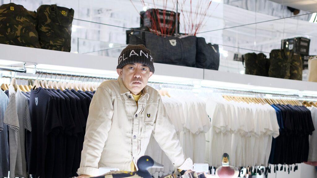 Nigo at a 2016 store opening