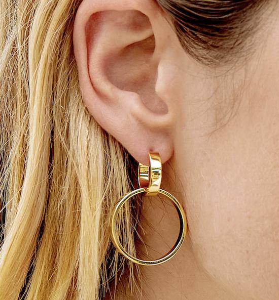 Gorjana Rose Earrings Price: $65
